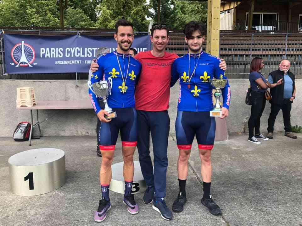 PCO Champions Didier et Colsy - Champions Ile de France X 4 !